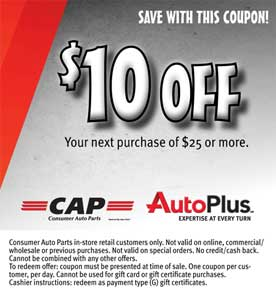 CAP Coupon
